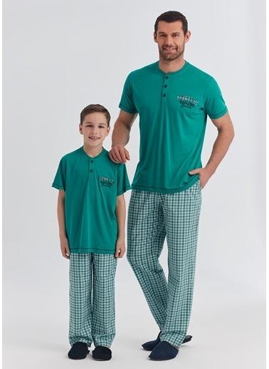 Dagi Erkek Pijama Takım Yeşil